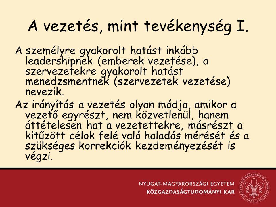 Integrációs törekvések XV.