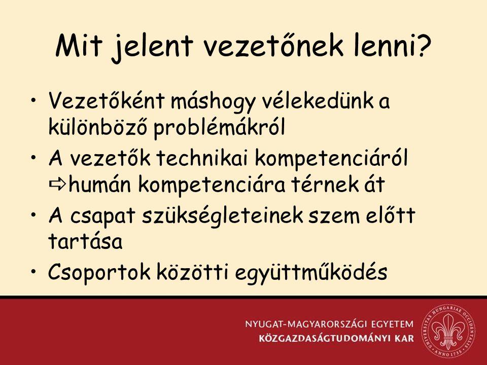 Integrációs törekvések XVI.