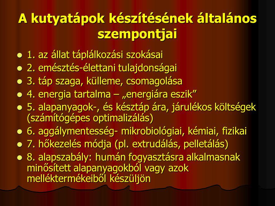 HALFÉLÉK ÉS HALFELDOLGOZÁSI MELLÉKTERMÉKEK 1.