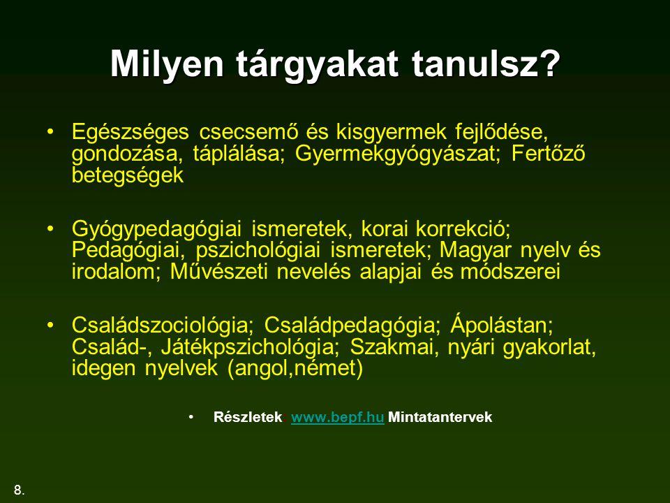 19.HAGYOMÁNYOK Nemzetiségi és idegen nyelvi tanszék 1.