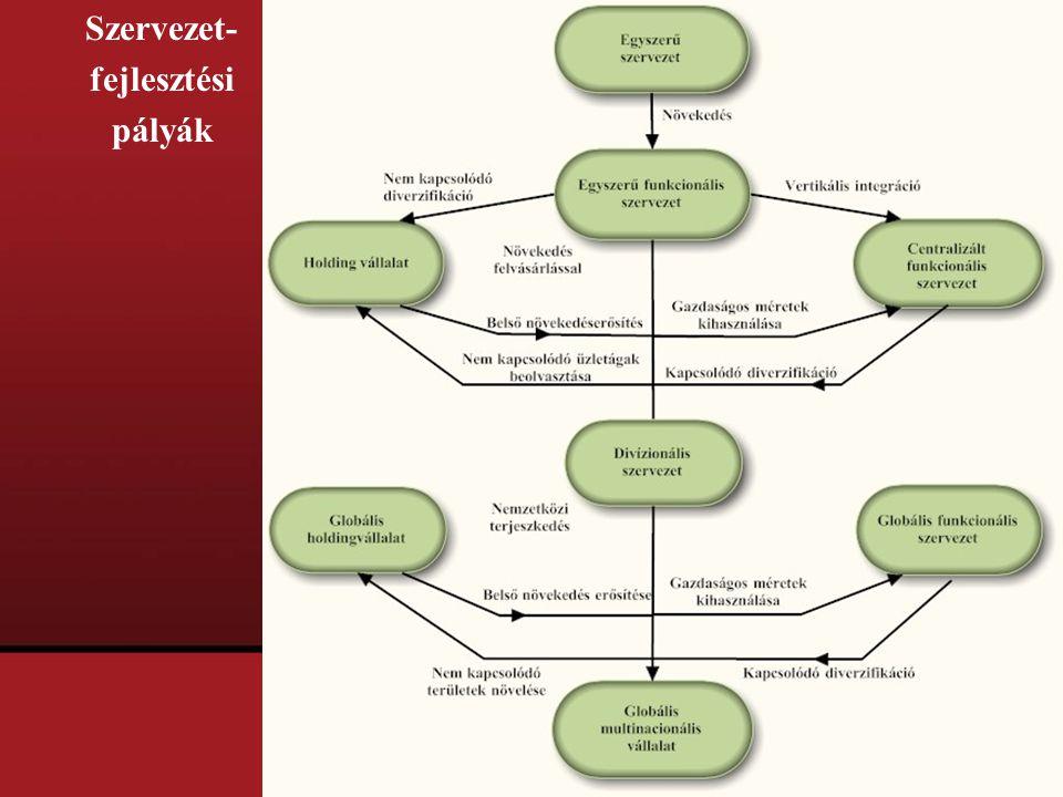 Szervezet- fejlesztési pályák