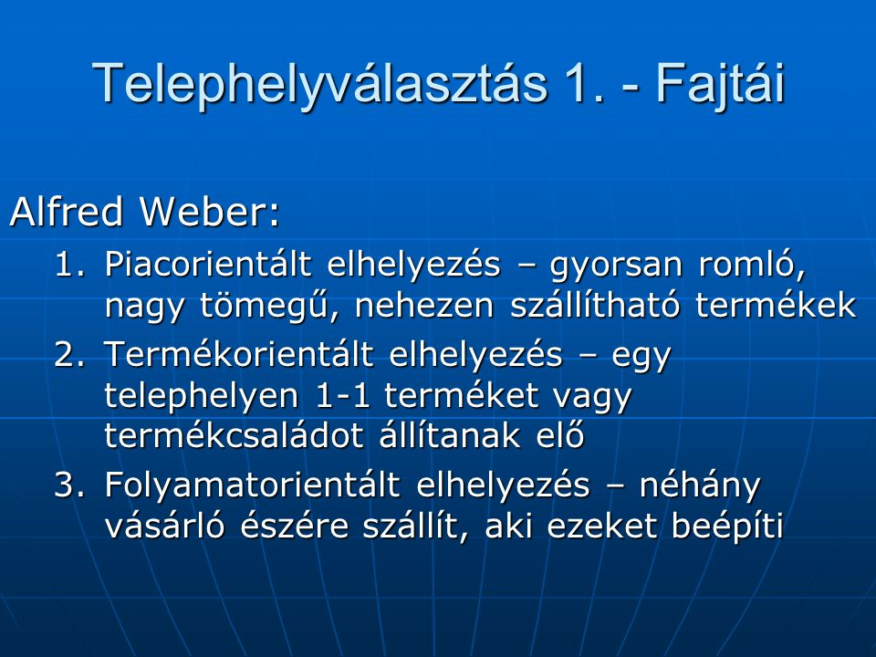 Információs rendszer szerepe az ÉF-ben – 1.