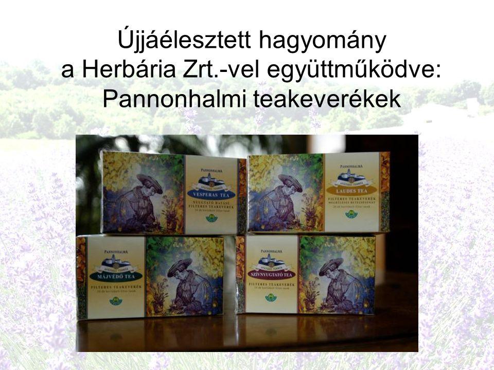 Újjáélesztett hagyomány a Herbária Zrt.-vel együttműködve: Pannonhalmi teakeverékek