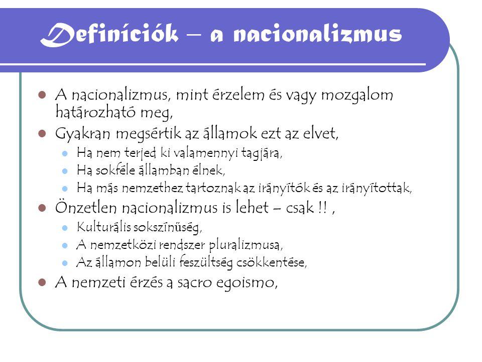 2.Az irredentizmus 2.
