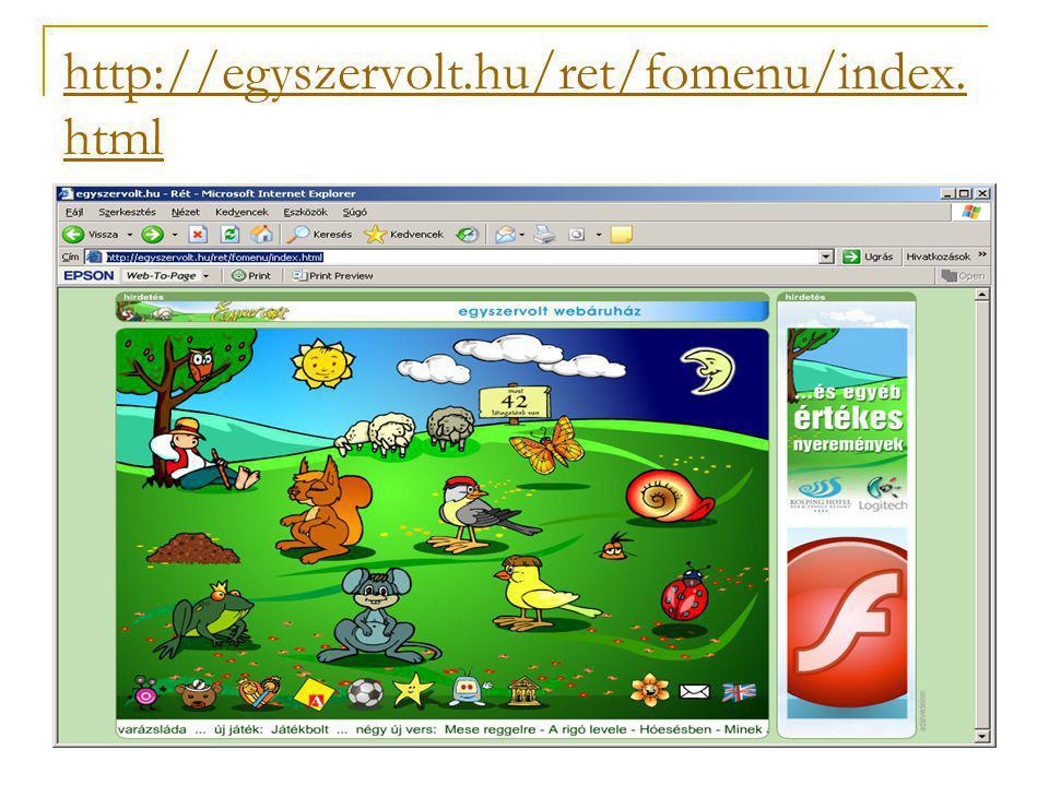 http://egyszervolt.hu/ret/fomenu/index. html