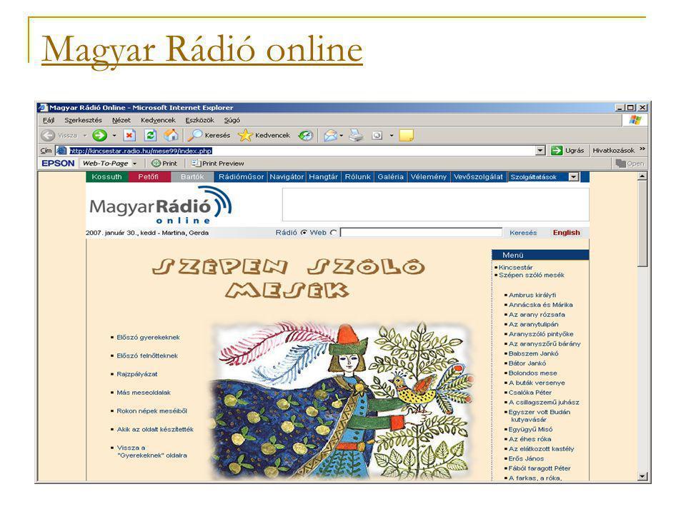 Magyar Rádió online