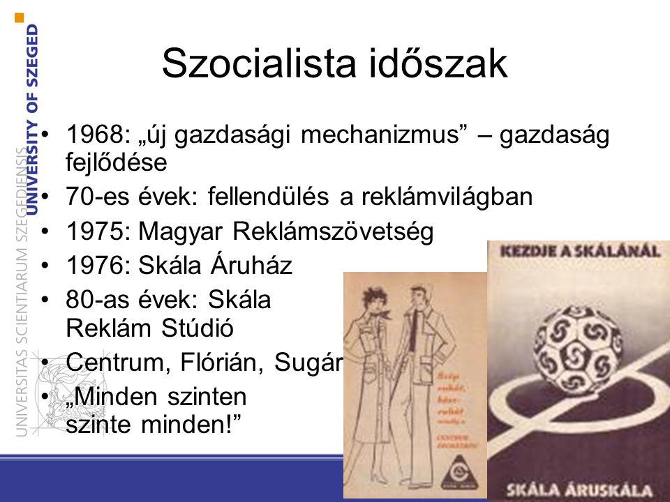 """Szocialista időszak 1968: """"új gazdasági mechanizmus"""" – gazdaság fejlődése1968: """"új gazdasági mechanizmus"""" – gazdaság fejlődése 70-es évek: fellendülés"""