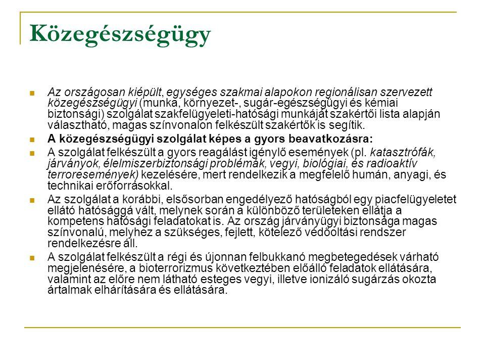 Az EFK legmagasabb szintű célja, az átfogó cél a magyar lakosság egészségi állapotának jelentős javítása.