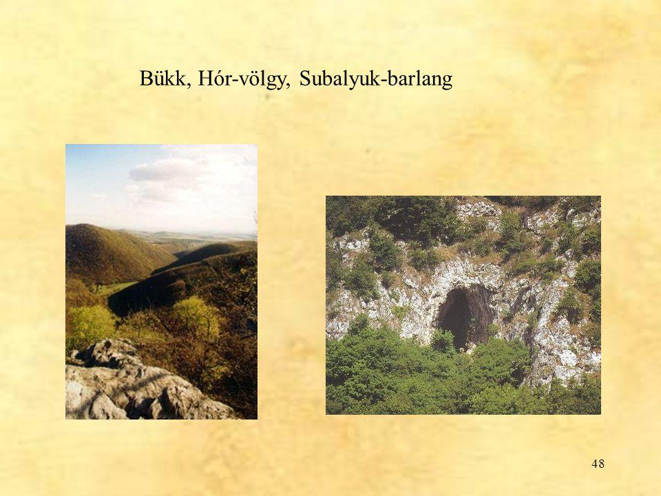 48 Bükk, Hór-völgy, Subalyuk-barlang