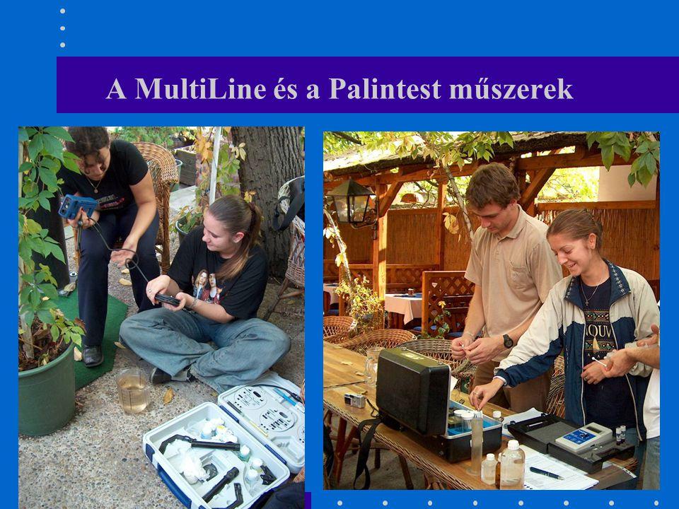 A MultiLine és a Palintest műszerek