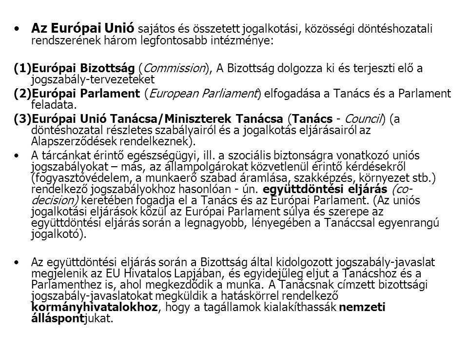 A hivatalos magyar álláspont, azaz a tárgyalási álláspont kialakítása jogszabályban meghatározott koordinációs rend szerint zajlik.