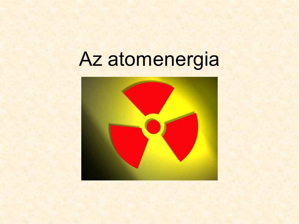 Mi az atomenergia.
