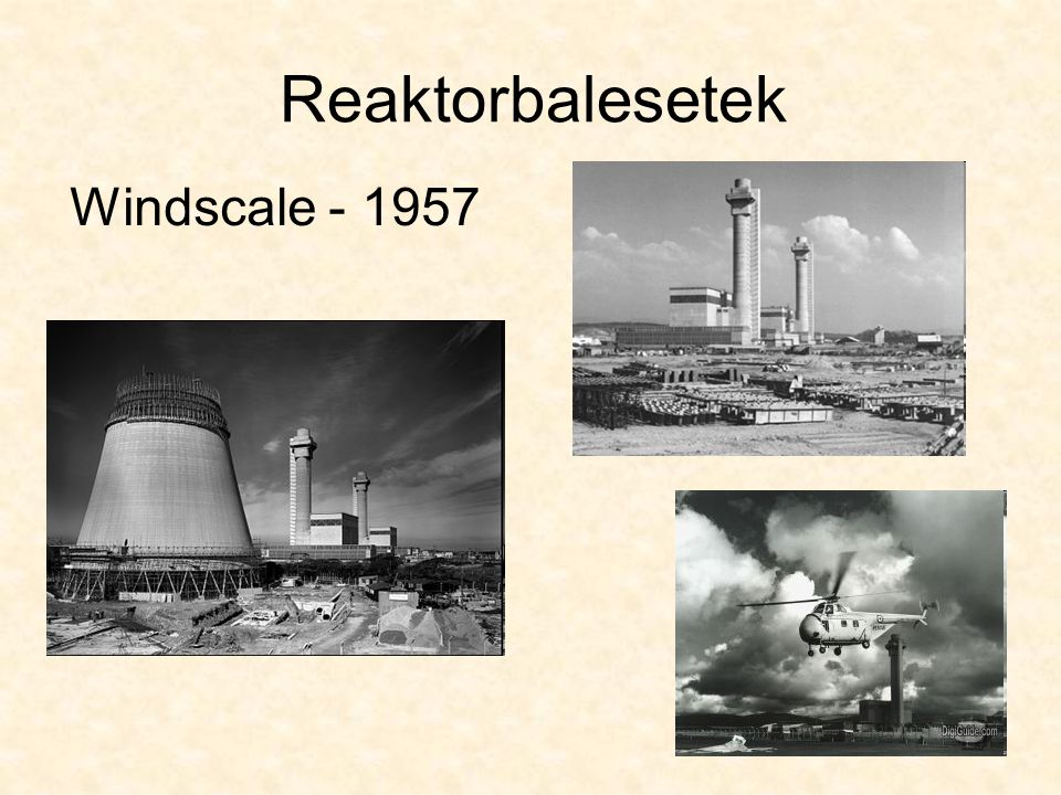 Windscale - 1957 Reaktorbalesetek