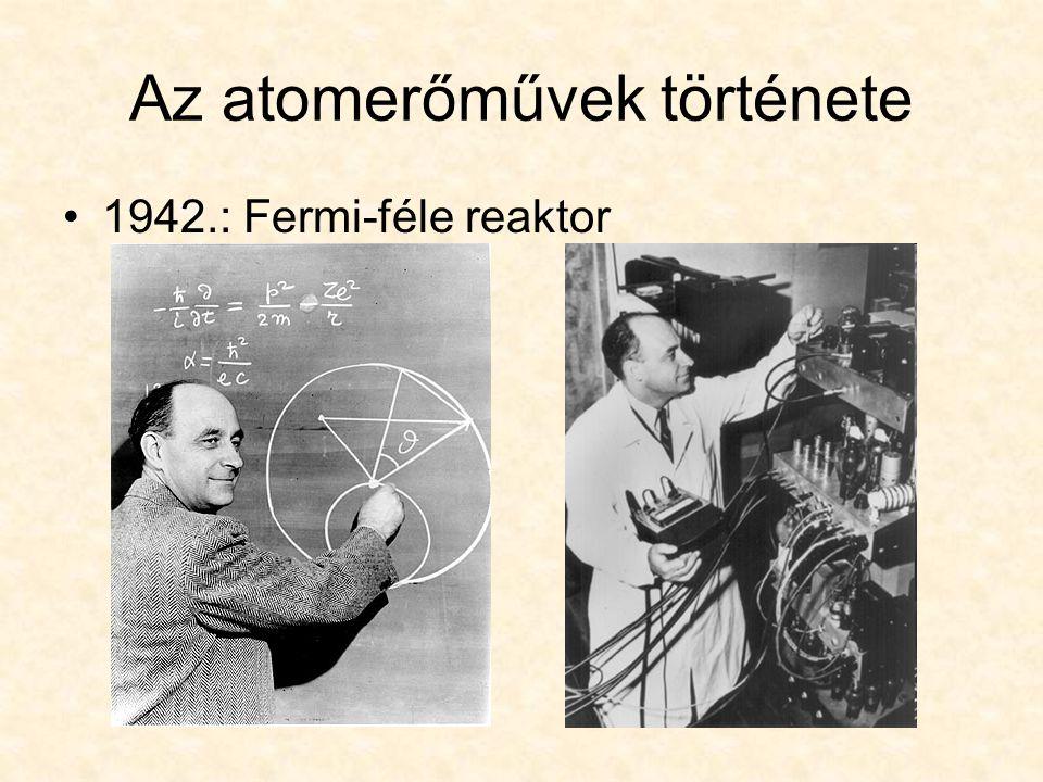 Az atomerőművek története 1942.: Fermi-féle reaktor