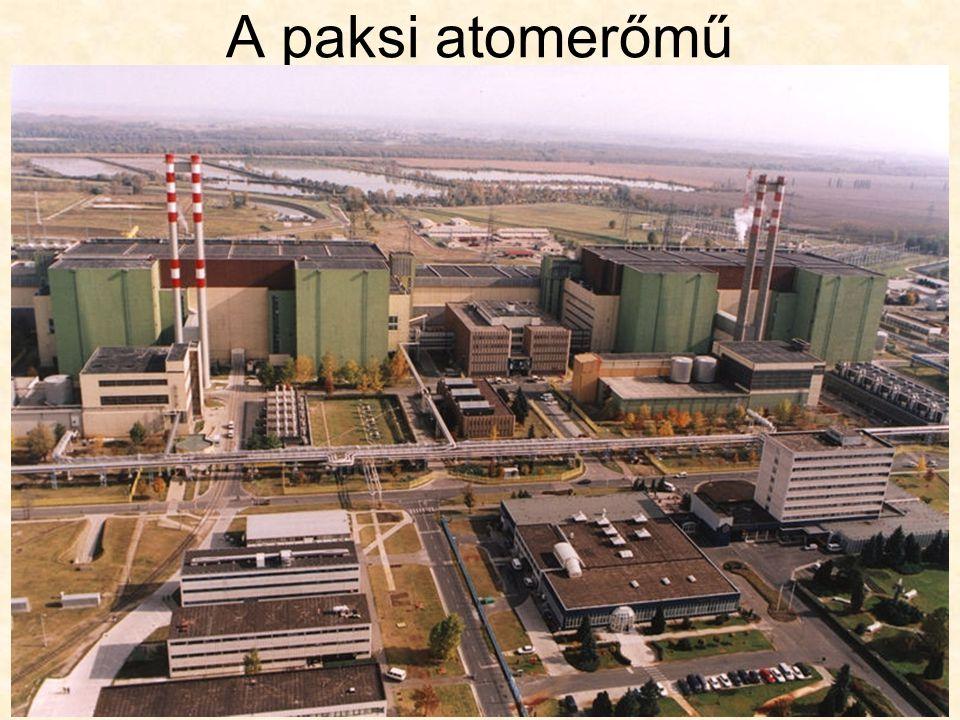 Az atomenergia környezeti problémái Radioaktív anyag kibocsátása: –elenyésző –ellenőrzik –atomreaktor meghibásodhat (nagyobb mennyiségű kibocsátás) –balesetek ritkák