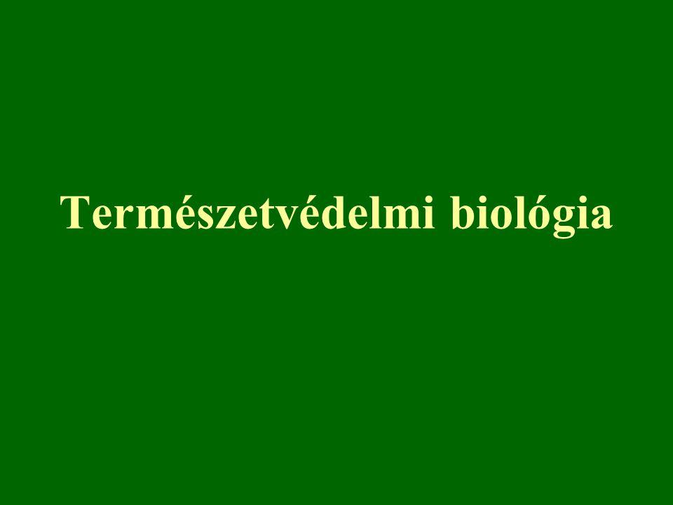 Természetvédelmi biológia