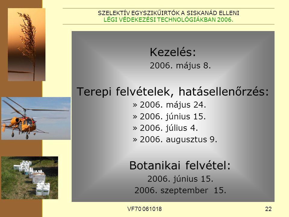 VF70 06101822 SZELEKTÍV EGYSZIKŰIRTÓK A SISKANÁD ELLENI LÉGI VÉDEKEZÉSI TECHNOLÓGIÁKBAN 2006.