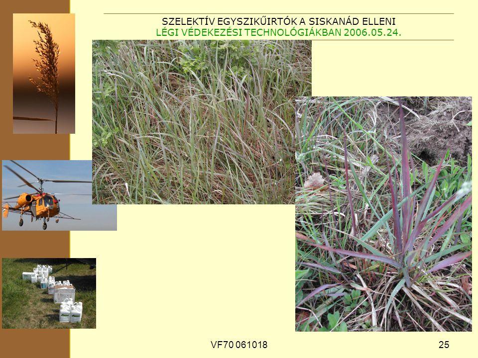 VF70 06101825 SZELEKTÍV EGYSZIKŰIRTÓK A SISKANÁD ELLENI LÉGI VÉDEKEZÉSI TECHNOLÓGIÁKBAN 2006.05.24.
