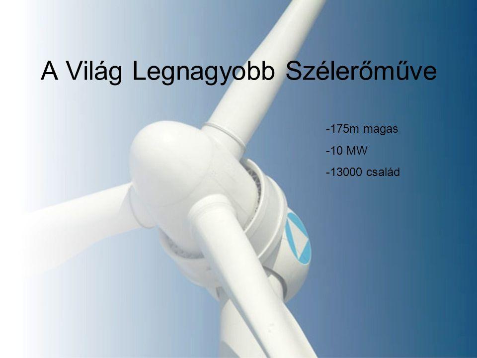 A Világ Legnagyobb Szélerőműve -175m magas -10 MW -13000 család