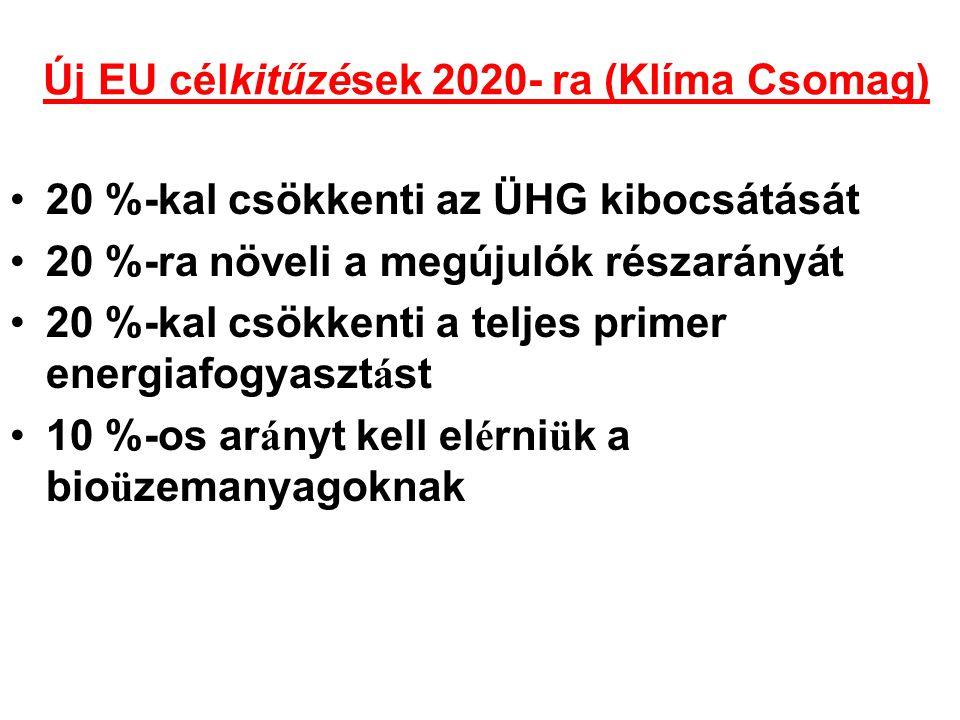A hazai energiapolitika alapelvei és a kapcsolódó fő dokumentumok Országgyűlés elfogadta a 2007-2020 időszakra szóló új energiapolitikát ( 40/2008 (IV.