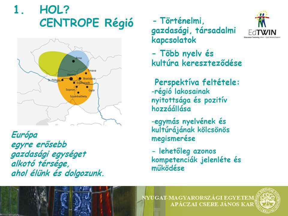 Nyugat-magyarországi Egyetem Apáczai Csere János Kar European Union European Regional Development Found