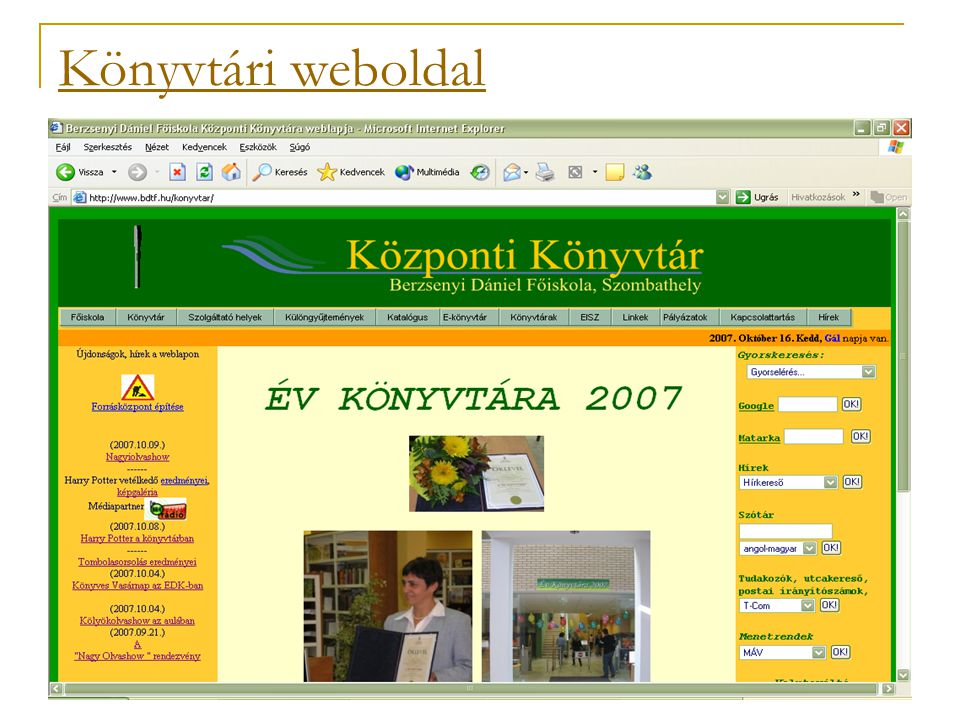 Elektronikus tankönyvek – 2007-től