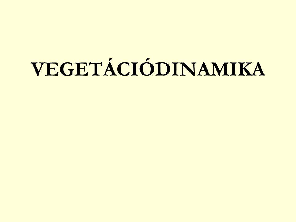 VEGETÁCIÓDINAMIKA