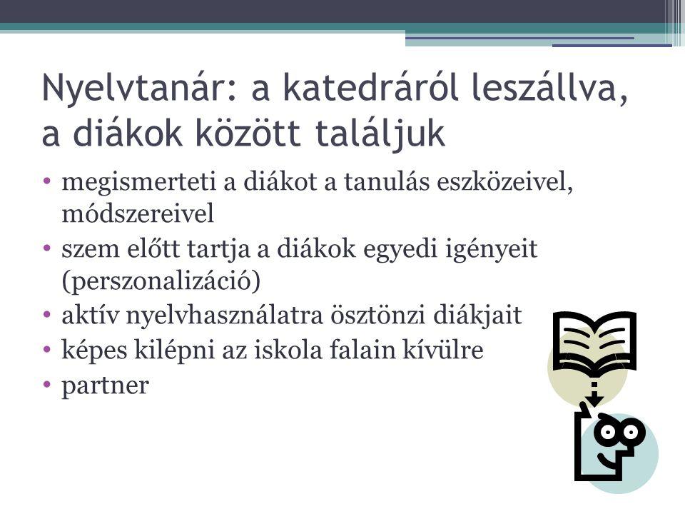 Megváltozott feltételek az orosznyelv oktatásban A feltételekhez alkalmazkodó megváltozott stratégiák A diákok életkora (idősebb tanulók) 2.