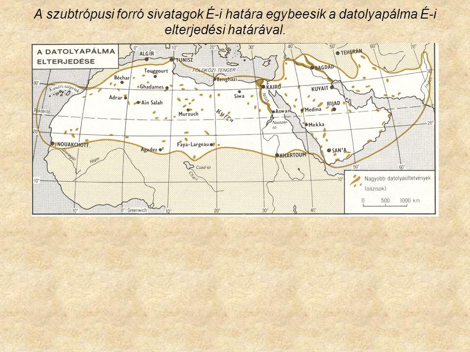 Sivatagos területek kialakulásának okai Zonális Orográfiai Intrazonális