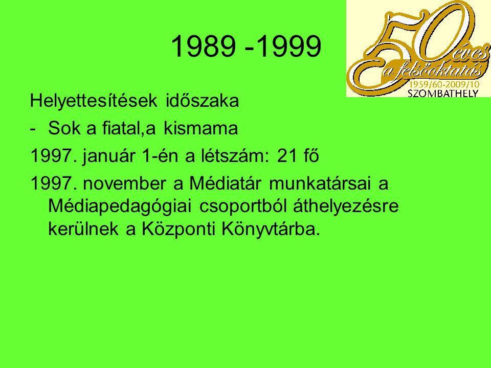 Idegen nyelvi könyvtár 1991- a könyvtár kialakítása a D épület földszintjén 1992 – Osztrák Könyvtár átadása 1993 – Angoltanári Továbbképző Központ és Könyvtár 1994 – az Idegen nyelvi könyvtár jelenlegi (II.