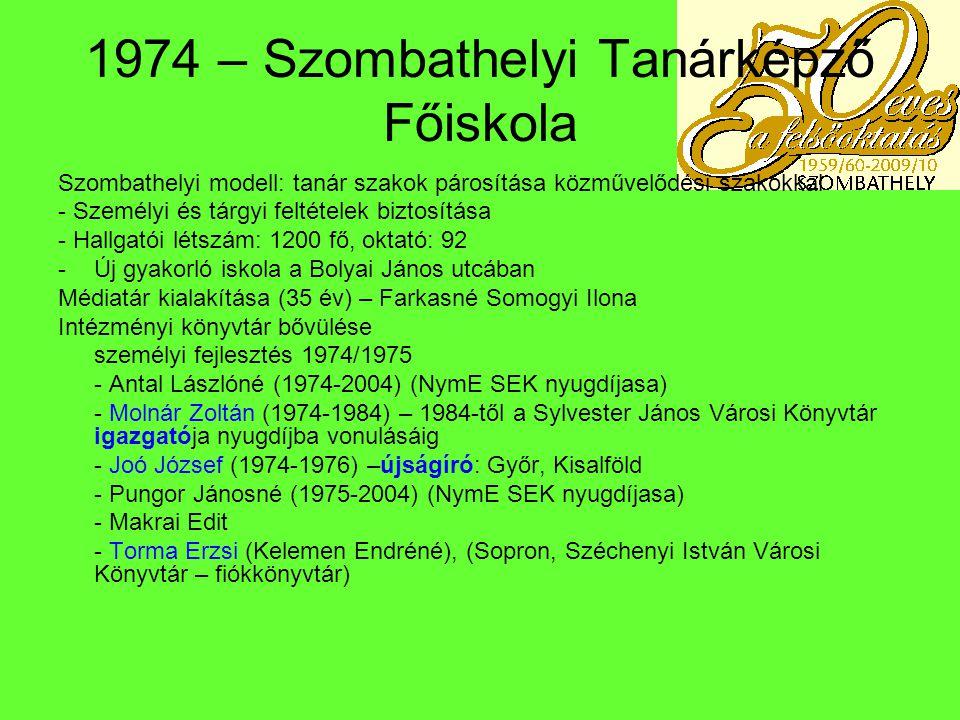 1976 – a változások éve Dr.