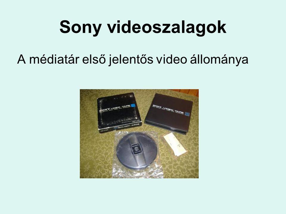 Digitalizálás Szolgáltatások: Oktatók – oktatási célra használt – dokumentumainak (hang, video) digitalizálása