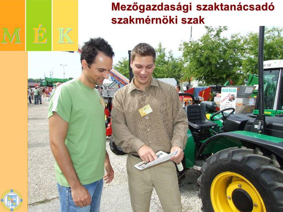 Mezőgazdasági szaktanácsadó szakmérnöki szak