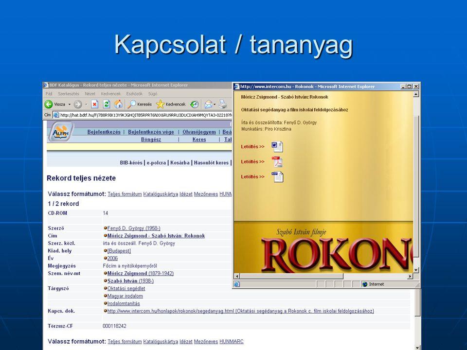 Elektronikus dokumentum(ok)