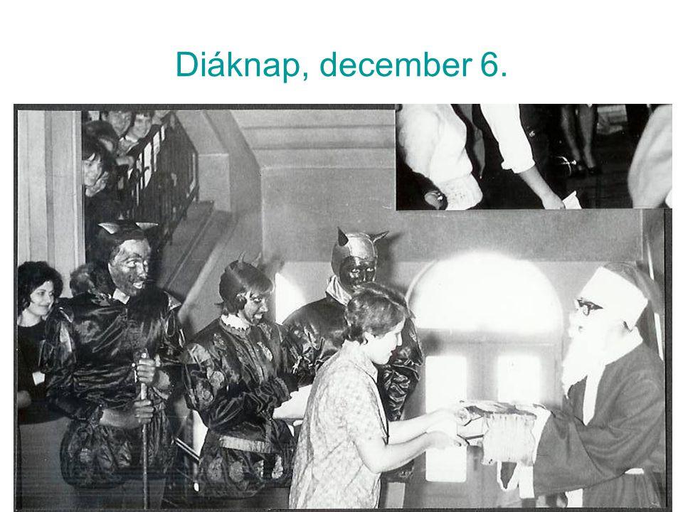 Diáknap, december 6.
