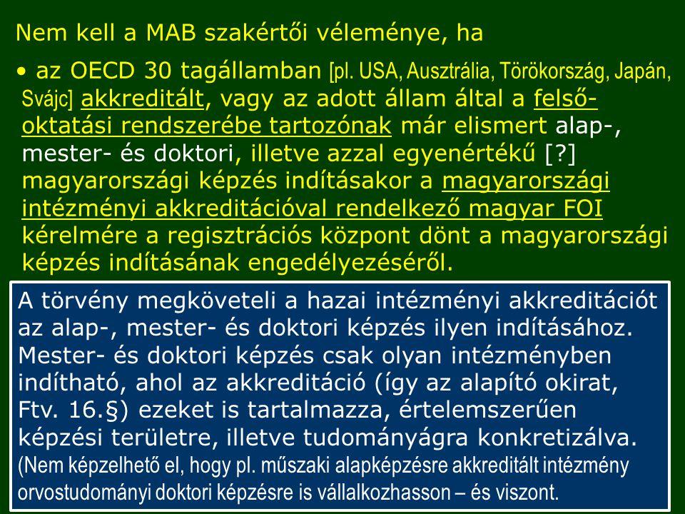 Nem kell a MAB szakértői véleménye, ha az OECD 30 tagállamban [pl.