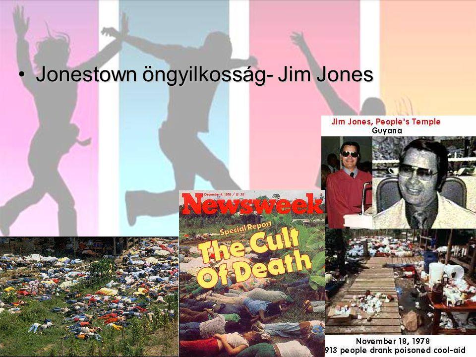 Jonestown öngyilkosság- Jim JonesJonestown öngyilkosság- Jim Jones