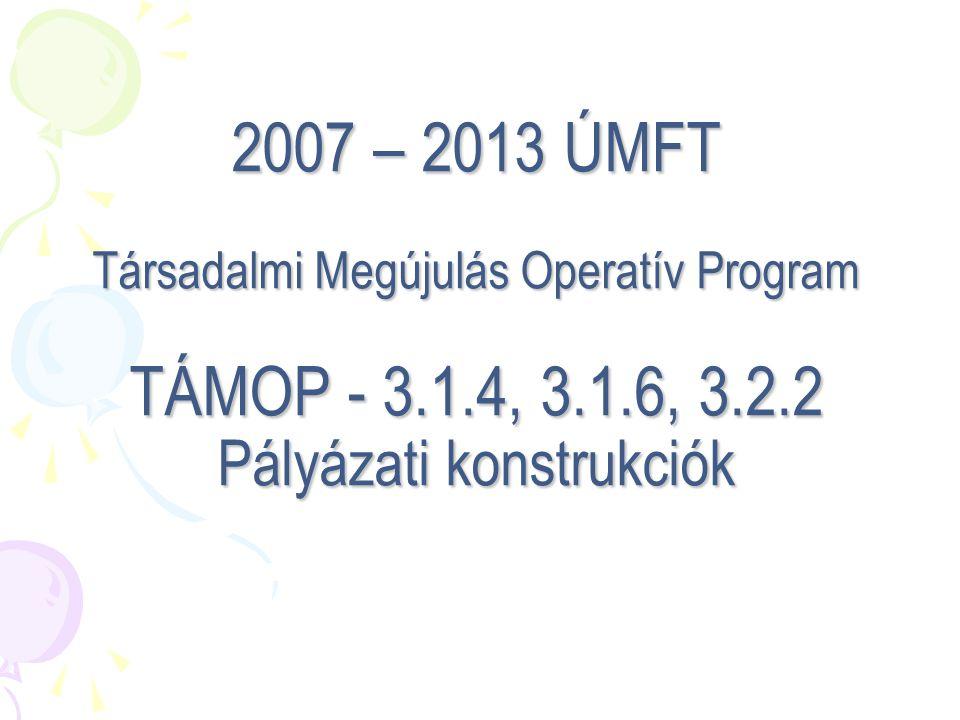 """TÁMOP 3.2.2 Regionális hálózatkoordinációs központok A régió fejlesztési igényeinek feltérképezése és nyomon követése Referenciaiskolák gondozása A horizontális együttműködések """"motorja A szolgáltatói kapacitások biztosítása együttműködések kialakításával Az intézmények fejlesztési tevékenységének szakmai támogatása, segítése Kapcsolattartás és együttműködés a TÁMOP 3.1.1 kiemelt projekt kedvezményezettjével A régió közoktatás-fejlesztési folyamatainak szakmai koordinációja"""