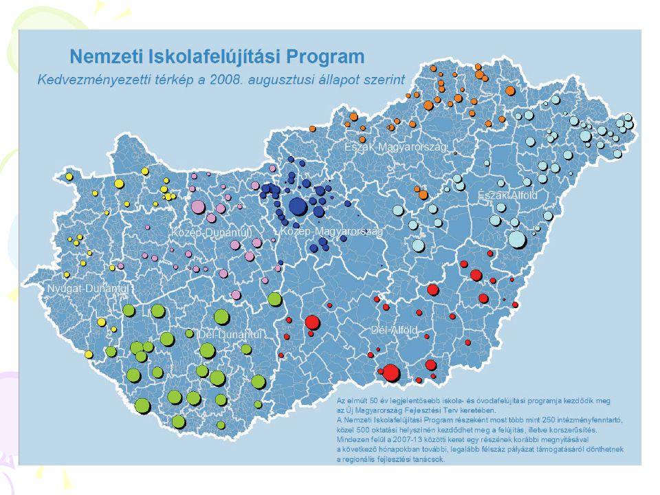 2007-13 időszakban ~ 255 Mrd Ft keret Kétéves teljes keret: ~ 100 Mrd Ft ~3500 intézmény; 50-55.000 pedagógus 4 intézkedés – 18 konstrukció (4 kiemelt projekt + 14 pályázat) TÁMOP 3: Minőségi oktatás és hozzáférés mindenkinek
