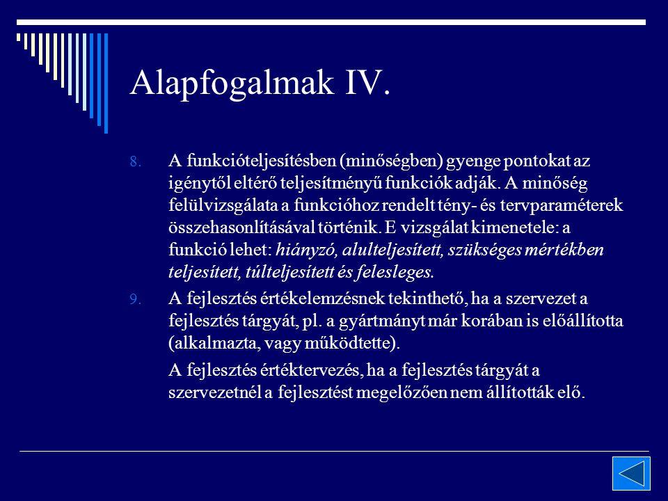 Alapfogalmak IV. 8.