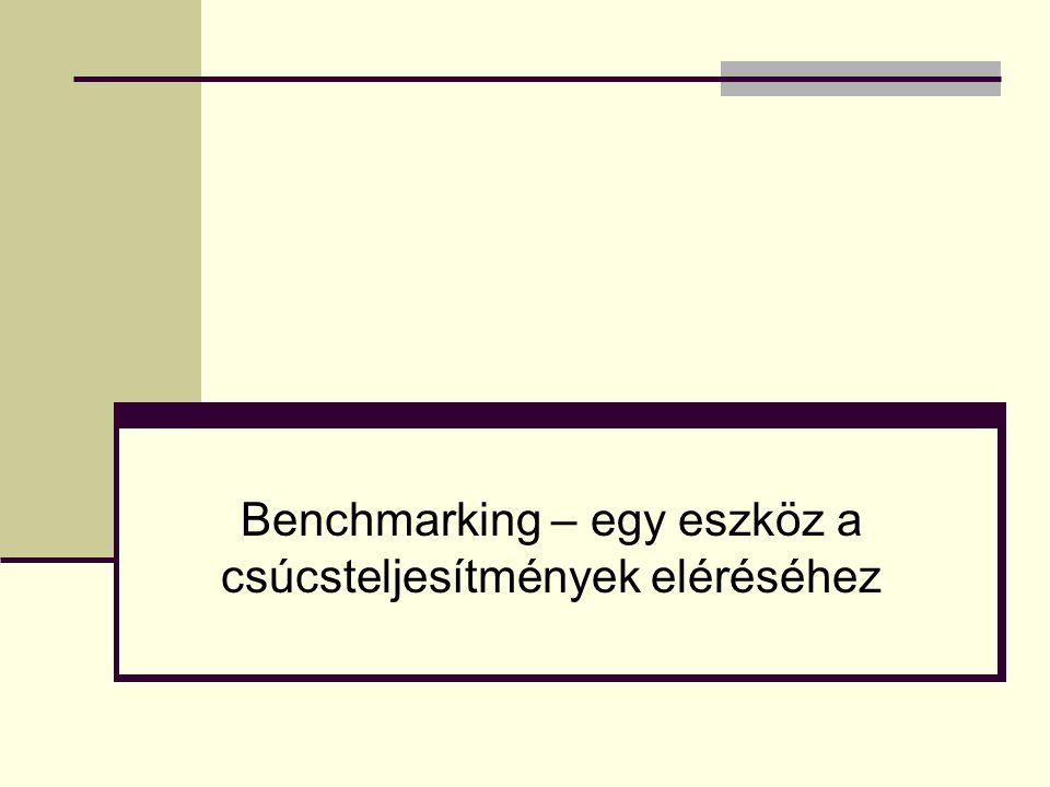 Benchmarking – egy eszköz a csúcsteljesítmények eléréséhez