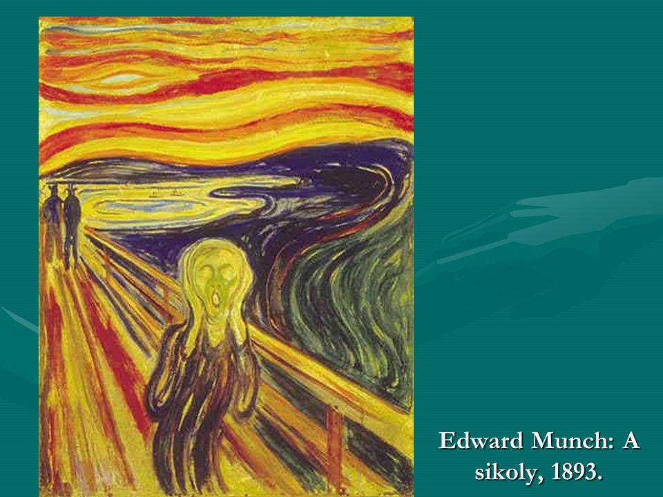 Edward Munch: A sikoly, 1893.