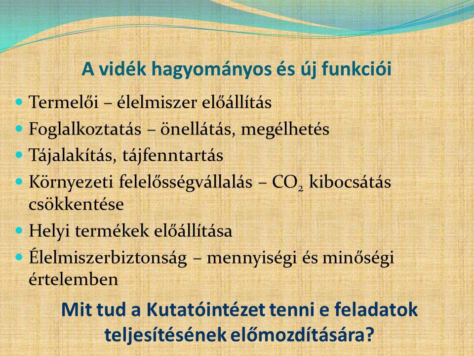 Szőlőtermelés területének és a termés mennyiségének alakulása Magyarországon Forrás: KSH, HNT