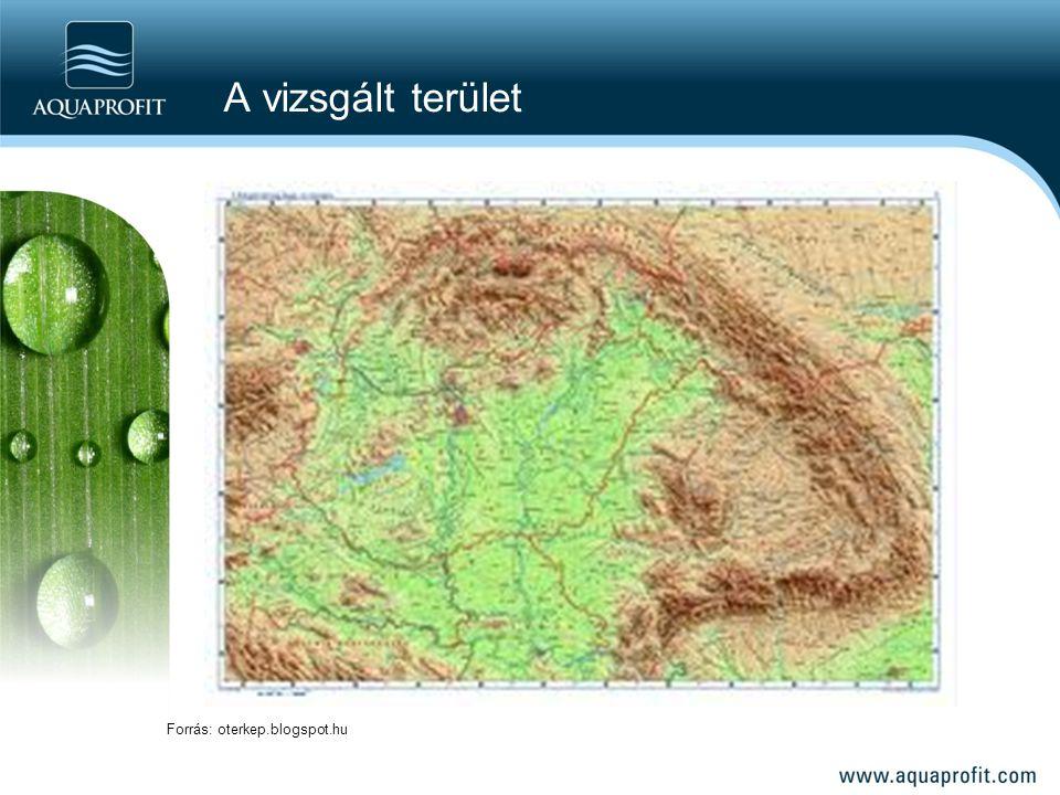 A vizsgált terület Forrás: oterkep.blogspot.hu