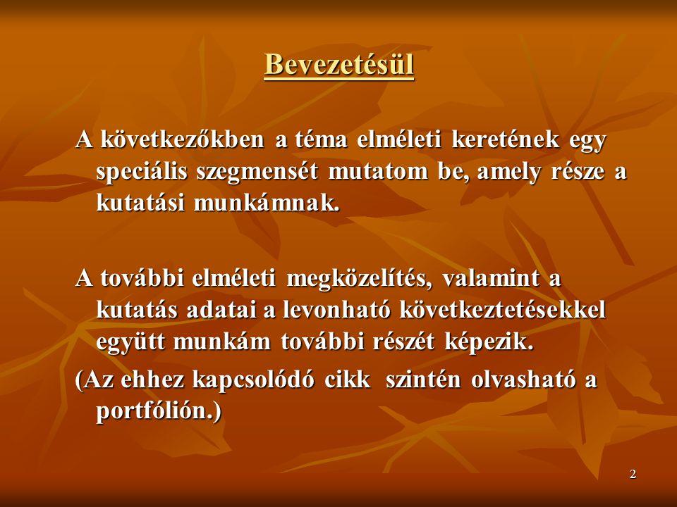 13 A PERFEKCIONIZNMUS I.