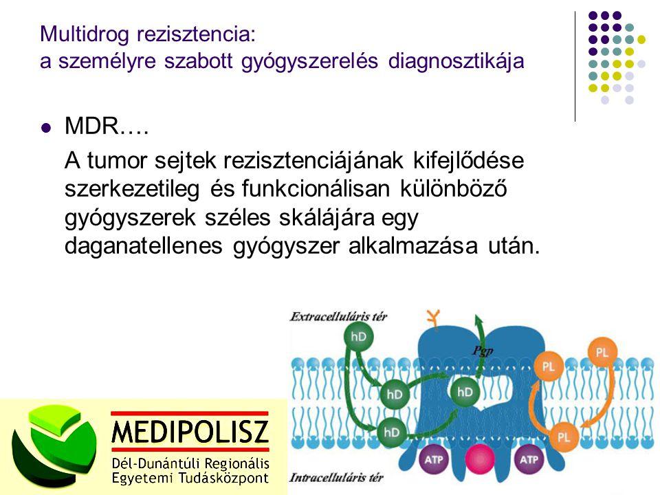 Multidrog rezisztencia: a személyre szabott gyógyszerelés diagnosztikája MDR….
