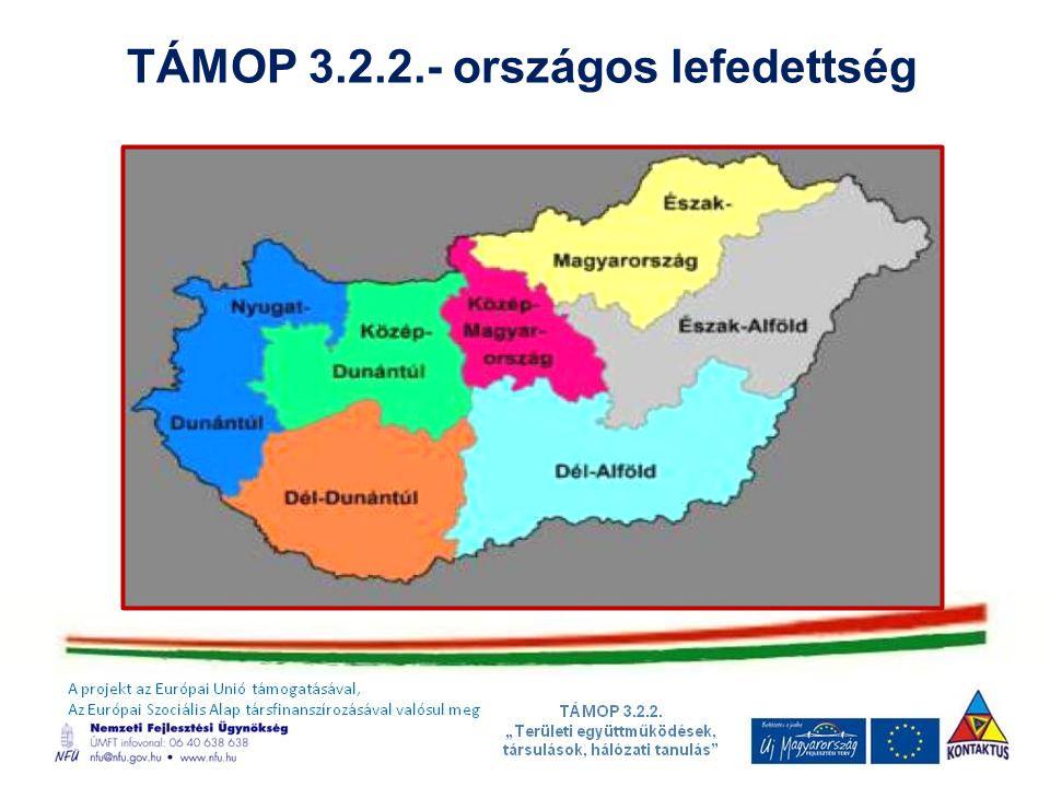 TÁMOP 3.2.2.- országos lefedettség