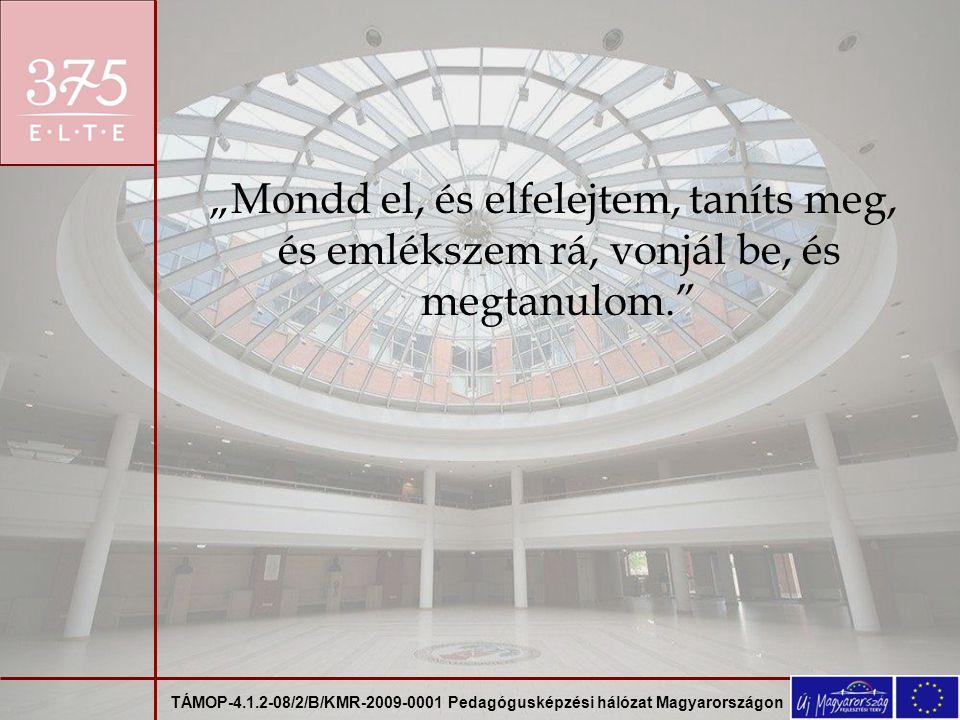 TÁMOP-4.1.2-08/2/B/KMR-2009-0001 Pedagógusképzési hálózat Magyarországon A téma történeti megközelítése: 60 órás, külső gyakorlat, igazgatóhelyettesi tapasztalataim.
