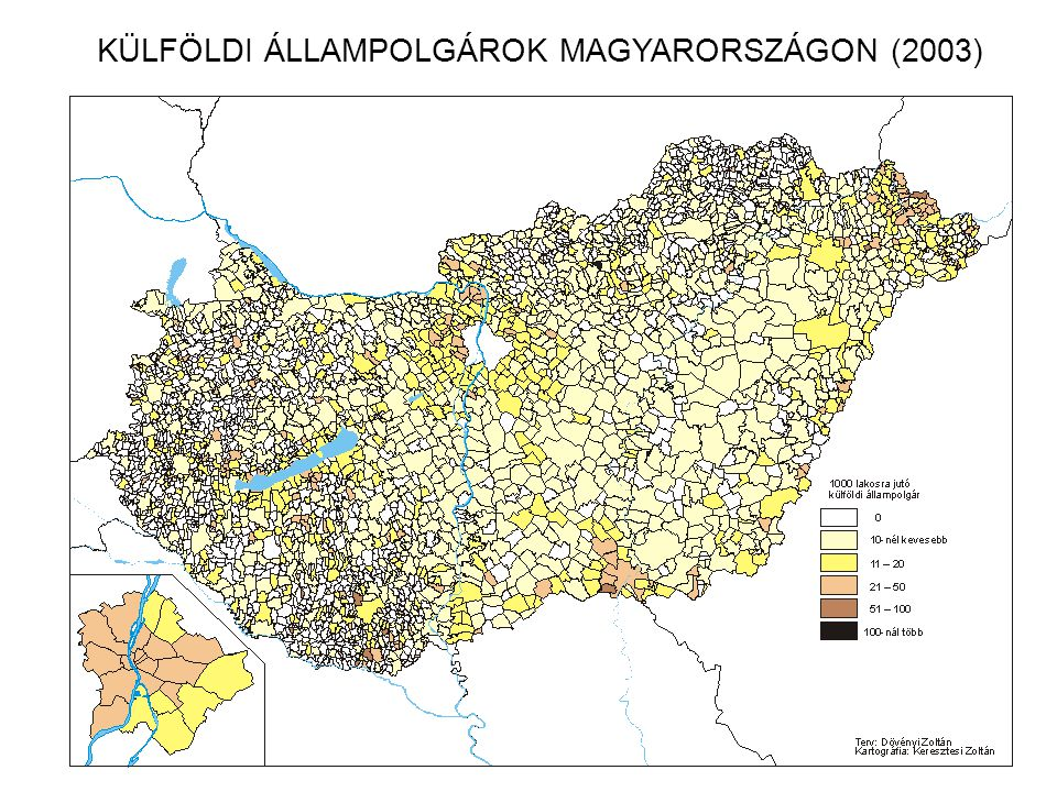 KÜLFÖLDI ÁLLAMPOLGÁROK MAGYARORSZÁGON (2003)