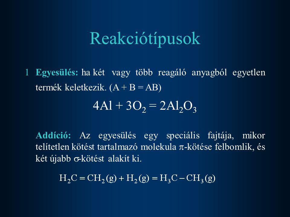 P olimerizáció: Ha azonos, többszörös kovalens kötést tartalmazó molekulák (monomerek) hoznak létre óriás molekulát.
